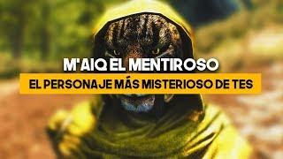 El personaje MÁS MISTERIOSO de THE ELDER SCROLLS | M'AIQ el mentiroso