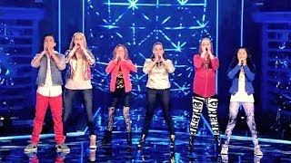 The voice Kids final 2014 -  Save The World