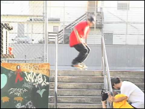 "Rodrigo Lima ""Start To Finish"" Switch Back Lip 10 SF CA SYN Skateboarding Clips"
