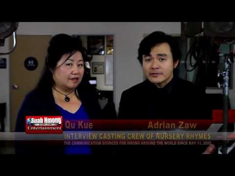 """Suab Hmong E-News: Interview Adrian Zaw & Alina Chorna, in the movie """"Nursery Rhymes"""""""