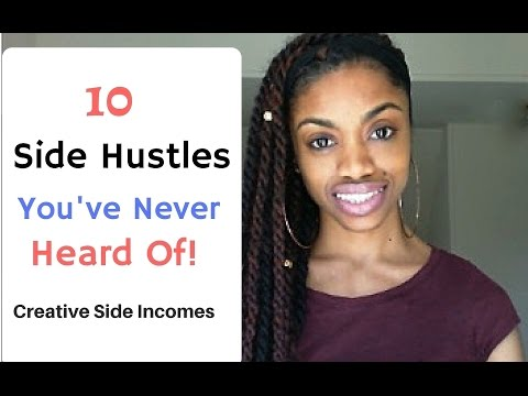 10 Side Hustles You'd NEVER Thought Of - No Experience Required:-)