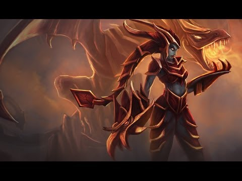 Shyvana Champion Spotlight Music Videos