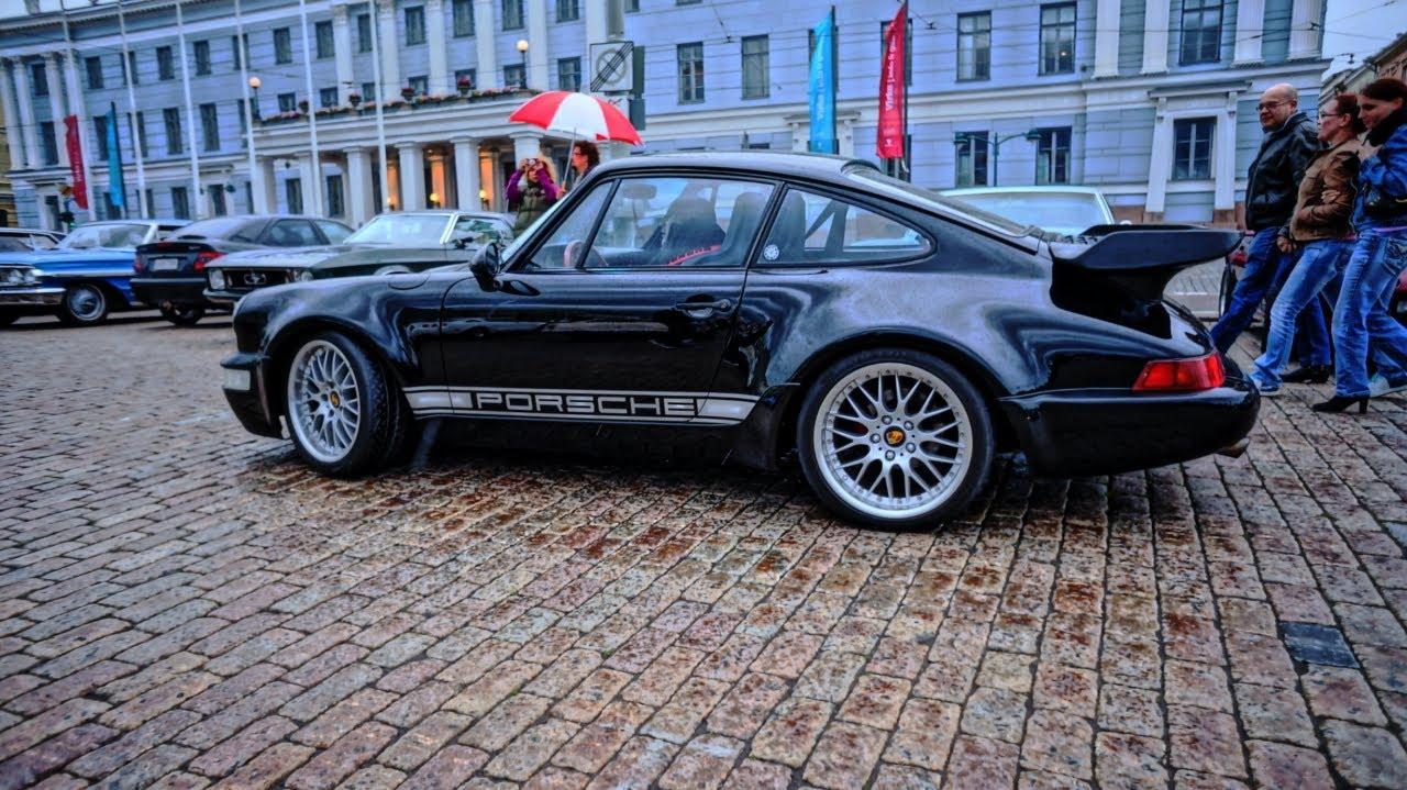 Porsche 911 Turbo 964 Sound And Walkaround Youtube