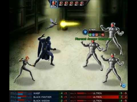 Marvel: AA Heroic Battle- Black Panther/Black Widow/Wasp
