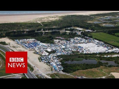 France begins to clear Calais camp - BBC News