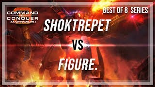 [C&C3: Kane's Wrath] Shoktrepet vs. Figure. (Bo8 Showmatch)