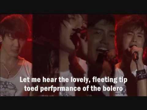 Dbsk - Bolero [eng. Sub] video