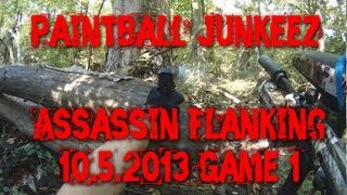 Paintball Sniper Assassin Flanking Tips Jungle Woodsball Full Game Tipx A-5 Fun! Headshot Mag Fed
