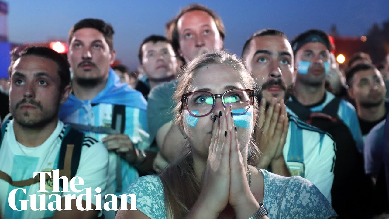 'It hurts my soul': Argentina fans in Buenos Aires react to Croatia defeat