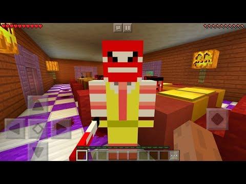 I FOUND RONALD MCDONALD in Minecraft Pocket Edition