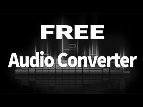 FREE Audio Converter for APPLE MAC OSX & PC