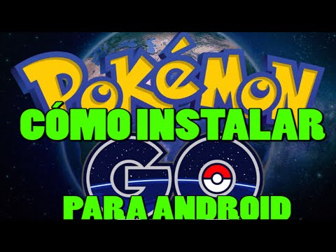 Instalar #PokemonGo V 0.29.2 en Android capturar a Pikachu y review del juego.