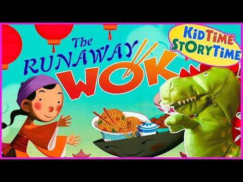 The Runaway Wok (A Chinese New Year Folk Tale) READ ALOUD