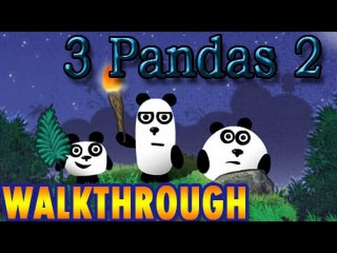 3 Pandas 2 Walkthrough [ Full ] - Point and Click Adventure game