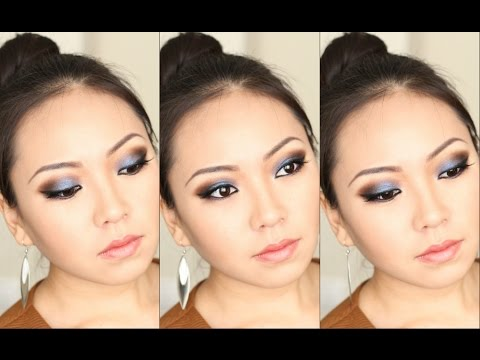 Smoky Eyes Для Нависшего Века/Smoky Eyes for the hooded eye/Makeup Tutorial NikyMacAleen