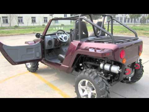 HUVUR Motors 800cc Tango 4x4 EFI 5 SPEED DOHC UTV Dune Buggy Canada 2011 HD Trailer