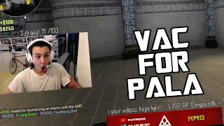 PALA NEEDS A VAC!!! (CS GO Stream Highlights + Funny Moments)
