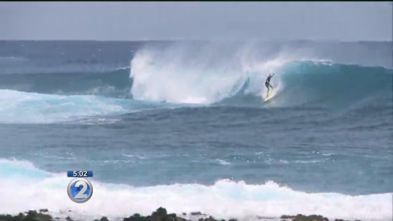 High surf reaches Hawaii Island as officials keep close eye on Ignacio