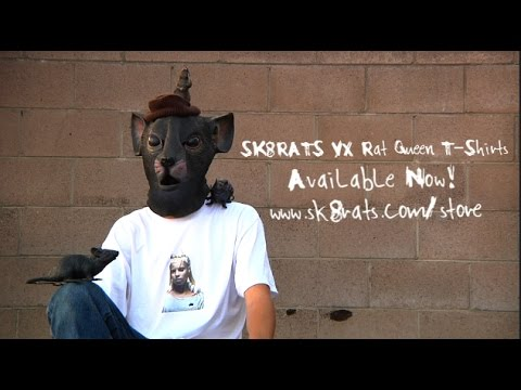 SK8RATS VX Rat Queen T-Shirt Commercial