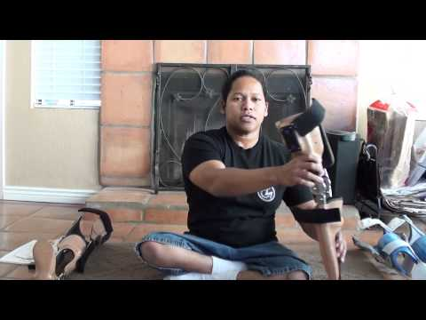 Reviewing my two leg braces