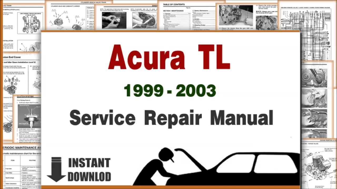 acura tl service repair manual 1999 2000 2001 2002 2003. Black Bedroom Furniture Sets. Home Design Ideas
