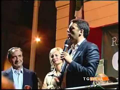 Matteo Renzi a Barletta per Pasquale Cascella sindaco