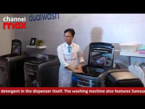 Samsung Activ DualWash offers All-in-One Laundry Experience