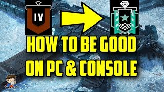 Rainbow Six Siege Tips & Tricks How to get better on PC & Console Improve Aiming good Copper Diamond