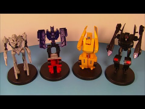 2007 Transformers Set Of 4 Jollibee Kid's Meal Movie Toy's Video Review video