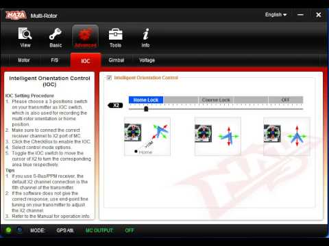 DJI Phantom Using Naza Assistant Software-How To
