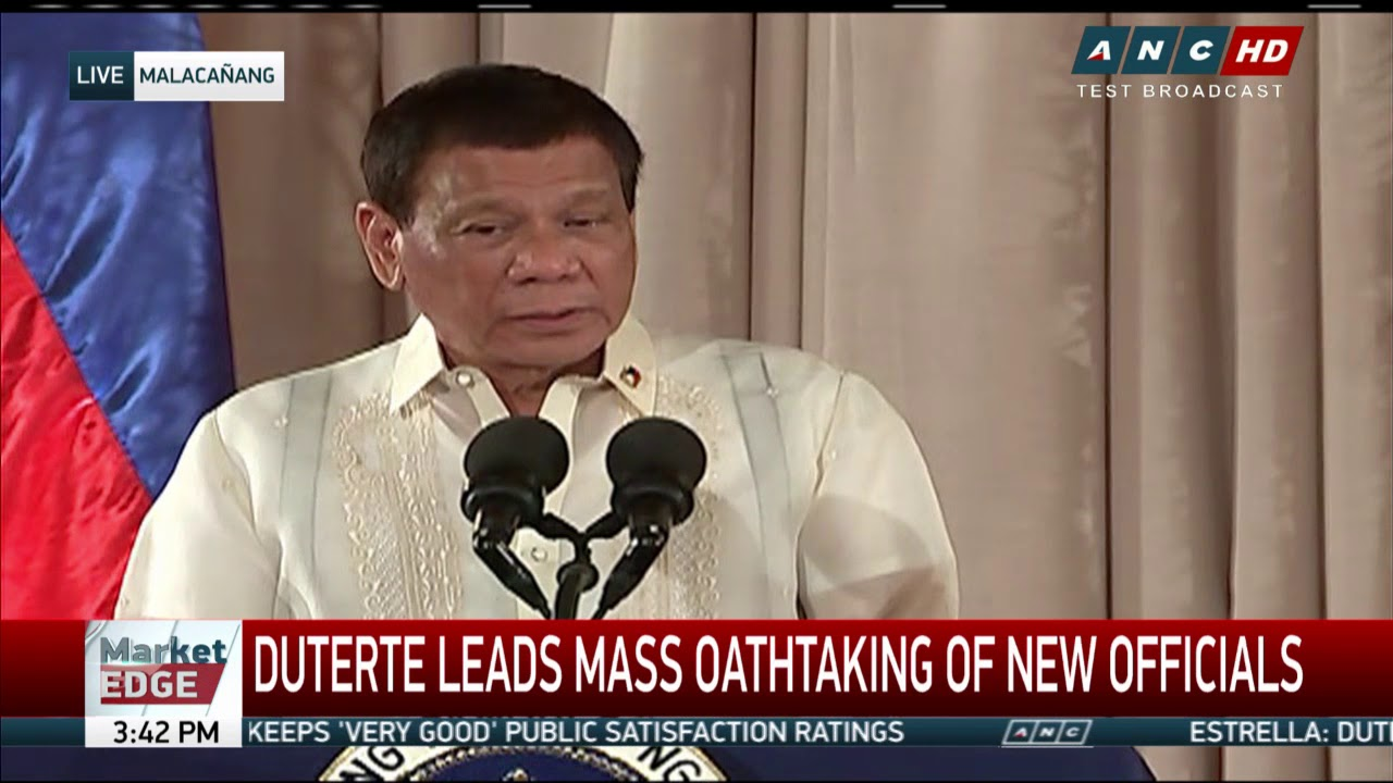 Duterte: Marcoses ready to return gold bars, portion of hidden wealth