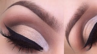 HOW TO: Cut crease eyeshadow tutorial