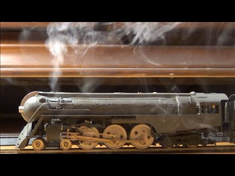 Broadway Limited Dreyfuss Hudson ~ Smoke & Sound ~ DCC ~ HO Scale Model Trains
