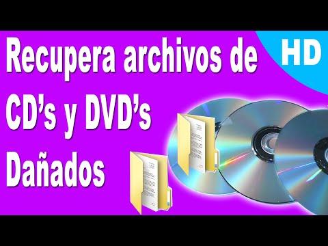 Como RECUPERAR ARCHIVOS de CD's y DVD's dañados   2015