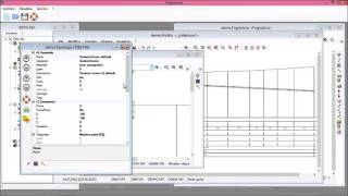 Utilizzo delle viste planimetria,profilo e sezione per singolo collettore