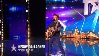 Download Lagu Britain's Got Talent 2015 S09E02 Henry Gallagher 12 Year Old Sings His Own Amazing Original Song Gratis STAFABAND