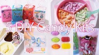5 DIY Candy Kits for ASMR