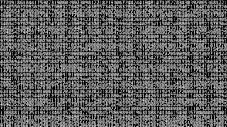 1,000,000 digits of pi [HD 1080p]