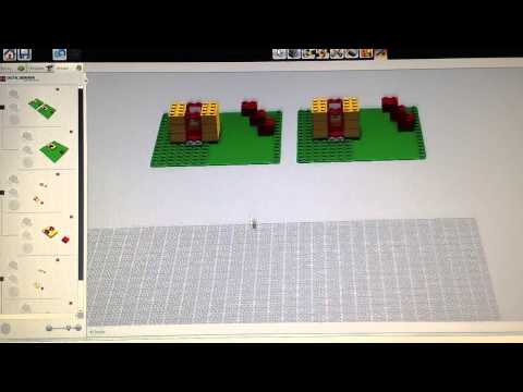 Lego trick to use LDD lxf file as interactive digital Building Instructions.
