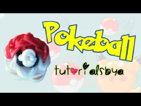 Pokeball Charm Rainbow Loom Tutorial