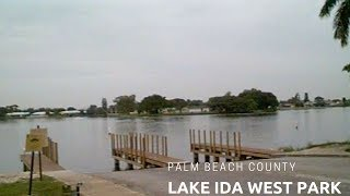 Lake Ida West Park: Dog Park and Peacock Bass Fishing Spot #TravelTips