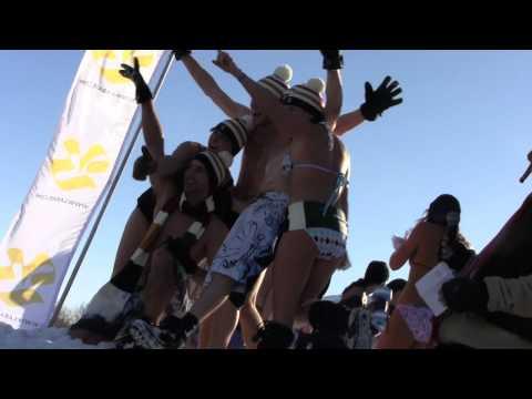 Bain de Neige - Snow Bath - Carnaval de Quebec Part 2