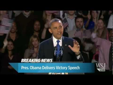 Melhor parte do discurso de reeleição do Obama - legendado (pt-br)