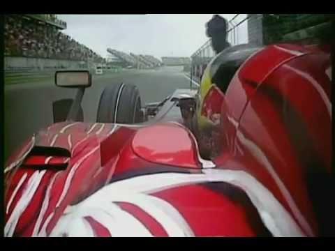 Sebastian Vettel going mad!