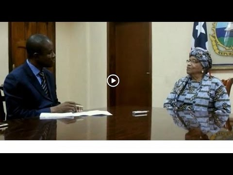 Liberia's Sirleaf calls for support to fight terror in west Africa