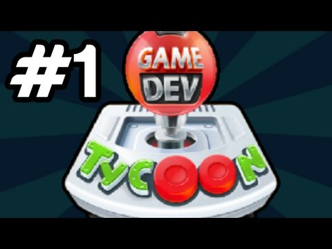 Lets Play Game Dev Tycoon   Part 1 - Beach Hill Studios! - [Part 1/4]