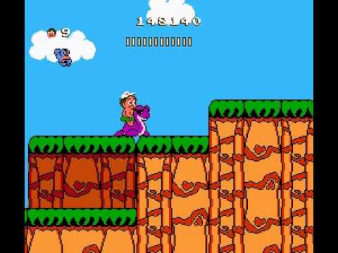 Adventure Island 2 - Adventure Island 2 Part 5 (NES) - User video