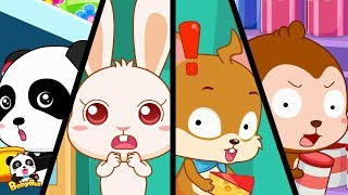 Baby Panda Got Lost in Supermarket | Outdoor Safety Tips for Kids | BabyBus Cartoon