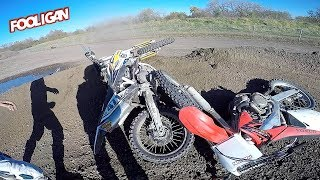 MX Dual Vlog | Bad Accident | 450 Whips!