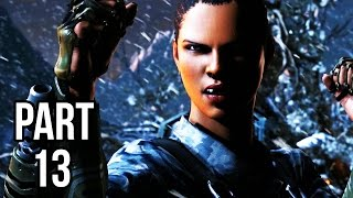 Mortal Kombat X Walkthrough Gameplay Part 13 - Jacqui Briggs - Story Chapter 11 (60FPS 1080p)